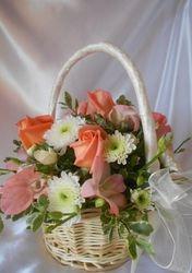 Flower Girl Basket  #F309