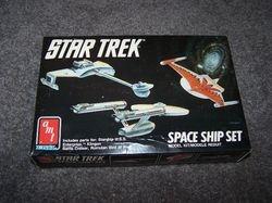 TOS Space Ship Set - AMT/ertl