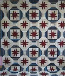2011 Raffle Quilt -- Stars of Virginia Dale