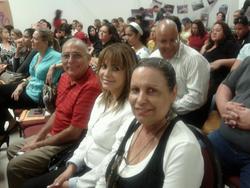 Victor Vivo, Wanda Garza y Sheila Alcaraz