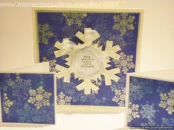 Snowflake Card Number Two