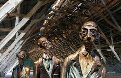 Three Amigos in a Factory