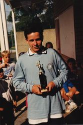 Derek u/14 Kwinana Singles Champion