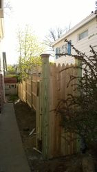 Completed Privacy Fence Image 3