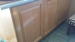 American Oak Kitchen Cupboards