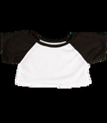 Black and white baseball shirt
