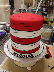 Cat In the Hat.... Hat Cake