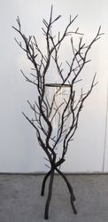 Wrought Iron Branch Vase