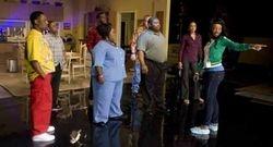 "Quincy bond, Larramie ""Doc"" Shaw, Cassi Davis, Lance Gross, LaVan Davis, Bart Hansard, Demetria McKinney & The Dance Director"