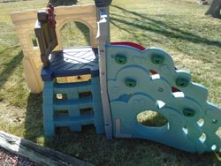 Little Tikes Rock Climber and Slide - $120