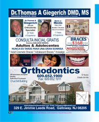 DR.THOMAS GIEGERICH DMD,MS
