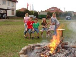 Abendstunden am Lagerfeuer