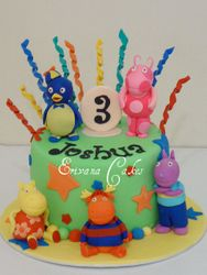 Backyardigans Cake 3 (B009)