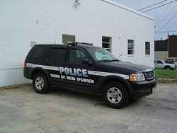 Town of New Ipswich Police Car