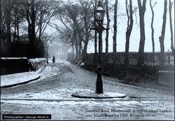 Island Lane, Handsworth. c1906.