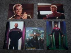 Star Trek Captains - Post Cards