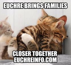 Euchre brings families closer together.