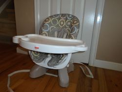 Fisher Price Space Saver High Chair - $25