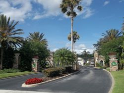 Entrance Drive to The Reserve at Town Center
