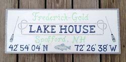 Lake House signage