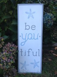 be. you. tiful