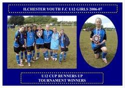 Ilchester Girls 2006-07