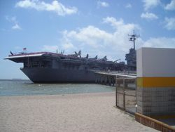 USS Lexington trip