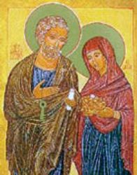 St. Peter & his wife