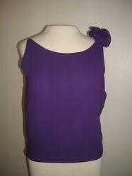 Purple one Flower Blouse $35