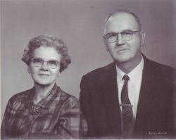 Katy Dunn and Flectcher Manning 1971 - 60th Wedding Anniversary