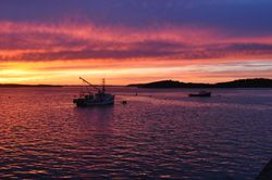 Sunset, Lubec, ME 4
