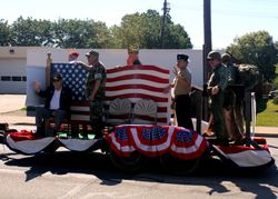 "VFW Post 3809 ""We The People"" Float"