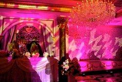 Custom Lighting transforms the venue!