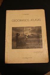 Prieskarinis geografijos atlasas. Kaina 8 Eur.