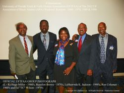OFFICIAL UFTFAA GROUP PHOTOGRAPH:UFTFAA at UF ABA Reunion 2012.  50 Years Celebration.  Honoring Pioneers
