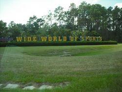 Disney Wide World Of Sports Entrance