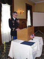 DSSA President Peter Goebel