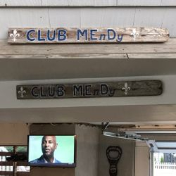 Club House sign