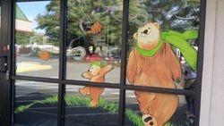 Fall Window Painting - Woodinville, WA