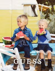 GUESS CAMPAIGN FUTURE FACES NYC