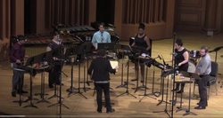 Premiere of Sextet for Amplified Percussion