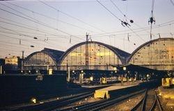 525 Frankfurt Rail Station Germany