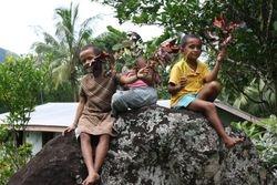 Children at remote village