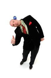 Blue Ball Balance