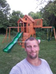 skyfort 2 swing set assembly service in fairfax VA