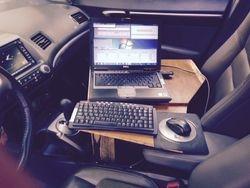 Bill N4IQ CW cockpit