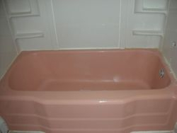 Before: Pink Tub