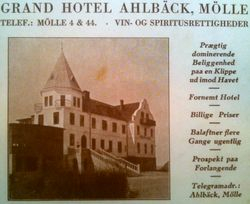 Grand Hotell Ahlbeck 1914