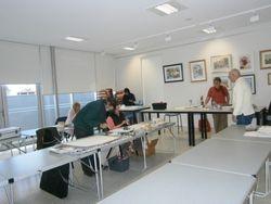 Students at workshop