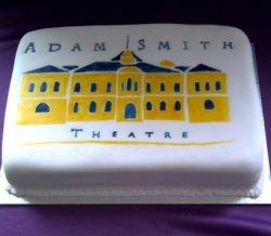 Adam Smith Theatre Cake